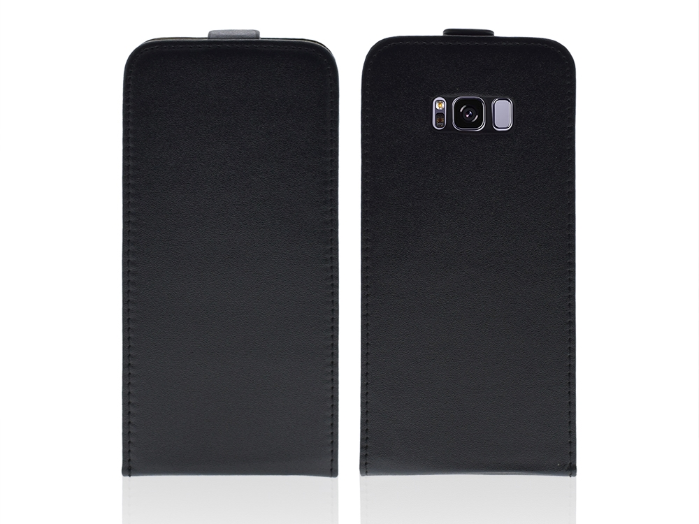 Калъф тефтер за Samsung Galaxy S8 Plus 2017 G955 Черен