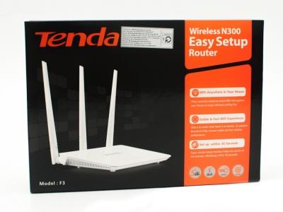 Безжичен рутер TENDA F3