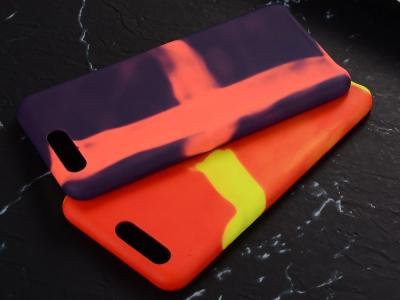 Калъфи гръб силикон за Huawei P10  Термо-променящи се цветове Черен