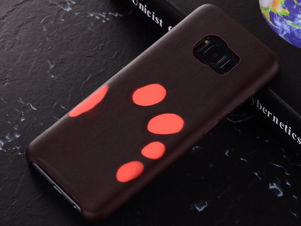 Калъфи гръб силикон за Samsung Galaxy S8 2017 G950F Термо-променящи се цветове - Black