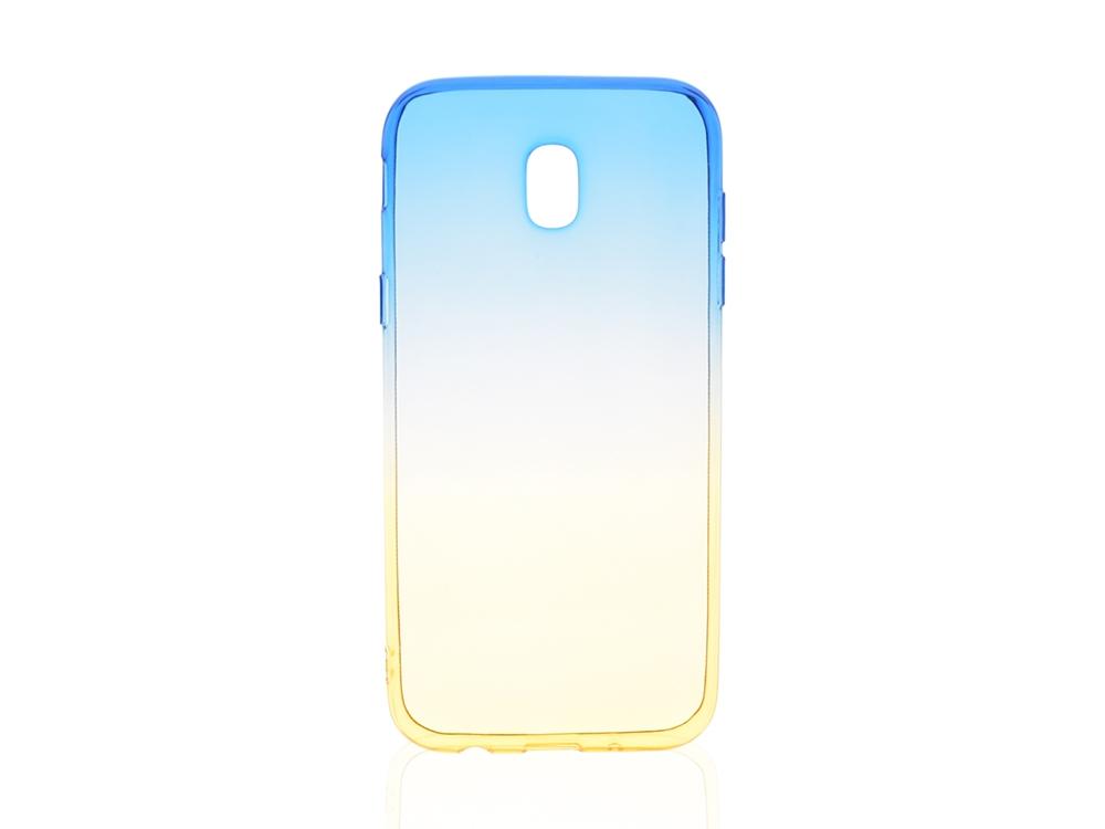 Силиконов гръб OMBRE за Samsung Galaxy J5 2017 J530 Син/Златист