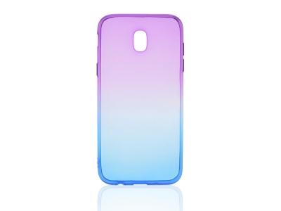 Силиконов гръб OMBRE за Samsung Galaxy J5 2017 J530 Лилав/Син