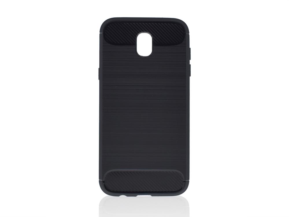 Силиконов Калъф Carbon за Samsung Galaxy J5 2017  J530F Черен