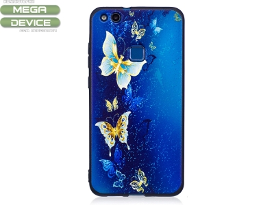 Силиконов Гръб за Huawei P10 Lite , Пеперуда
