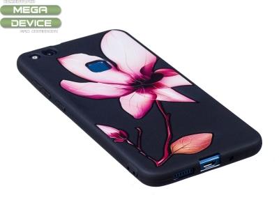 Силиконов Гръб за Huawei P10 Lite, Цвете