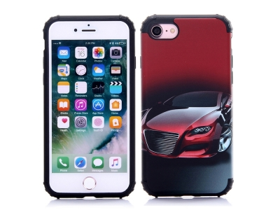 Калъф гръб 3D Car  iPhone 7 - Red