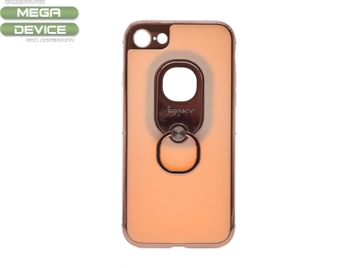 Калъф гръб iPaky 2 in 1 за iPhone 7 / 8- Rose Gold