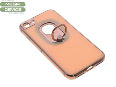 Калъф гръб iPaky 2 in 1 за iPhone 7 / 8 , Розов/ Златист