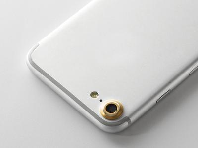 Метален протектор за Apple iPhone 7 / 8, Златист