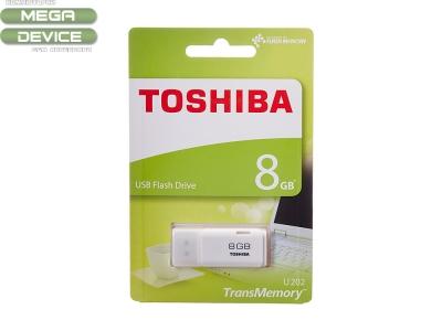 8GB Toshiba USB 2.0 HAYABUSA Бял