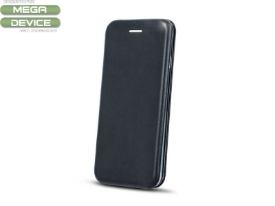 Калъф Тефтер ELEGANCE за Huawei P8 Lite 2017 /  P9 Lite 2017 /  Honor 8 Lite , Черен