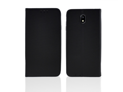 Калъф Тефтер за Samsung Galaxy J7 2017 J730, Черен