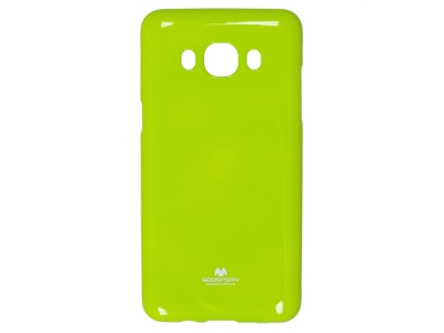Силиконов гръб Jelly Mercury за Samsung Galaxy J7 2016 J710f , Зелен