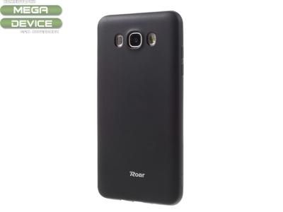 Силиконов гръб  Roar за Samsung Galaxy J7 2016 J710F, Черен