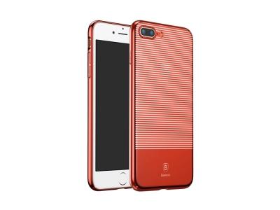 Твърд гръб BASEUS за Iphone 7 PLUS / 8 PLUS,Червен