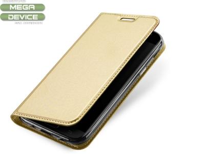 Калъф Тефтер ELEGANCE за Samsung Galaxy J5 2017 J530 ,Златист