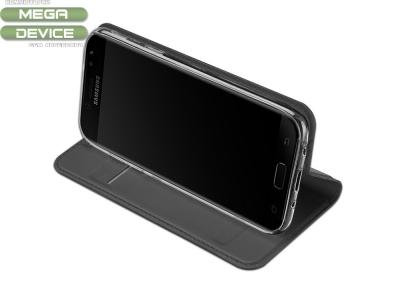 Калъф Тефтер ELEGANCE - Samsung Galaxy J5 2017 J530 ,Черен