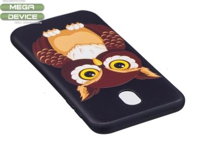 Силиконов гръб за  Samsung Galaxy J7 2017  J730 - Owl