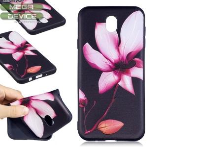 Силиконов гръб за Samsung Galaxy J7 2017 J730 - Blossoming Flower
