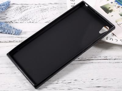 Силиконов Гръб Matte за Sony Xperia XA ULTRA, Черен