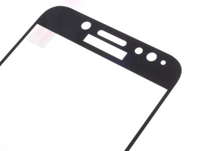 Стъклен протектор Full Samsung Galaxy J7 2017 J730,Черен