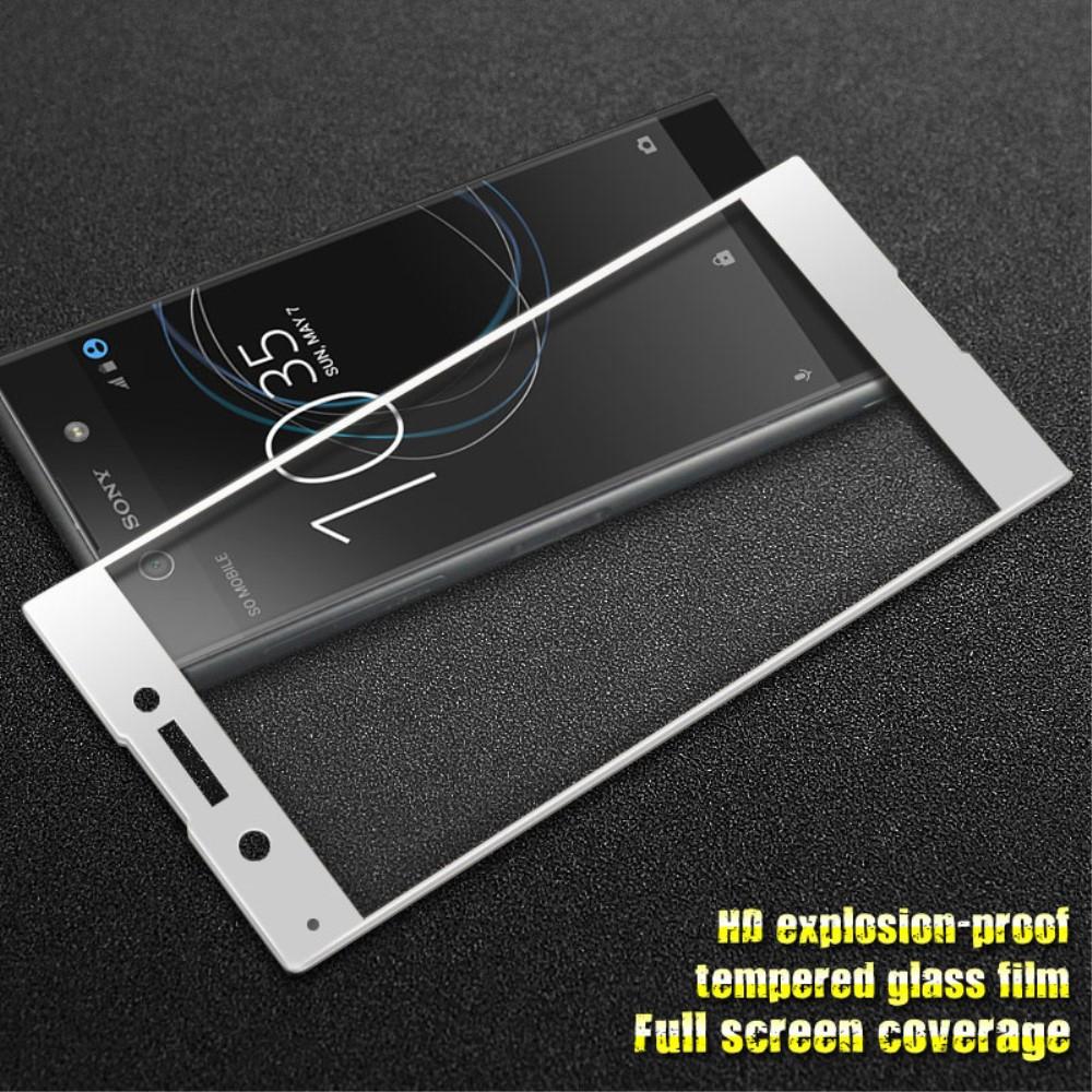 Стъклен Протектор IMAK Full Sony Xperia XA1,Бял