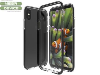 Калъф гръб Hybrid за iPhone X , Черен