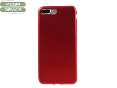 Силиконов Калъф J-CASE за iPhone 7 Plus / 8 Plus ,Червен