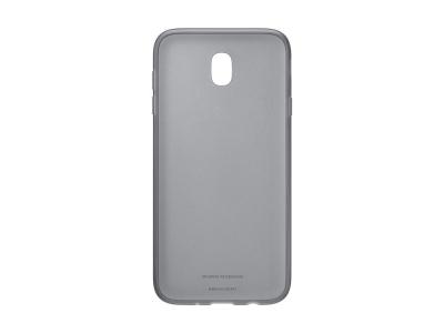 Оригинален силиконов гръб за Samsung Galaxy J7 2017 J730 (EF-AJ730TB), Черен