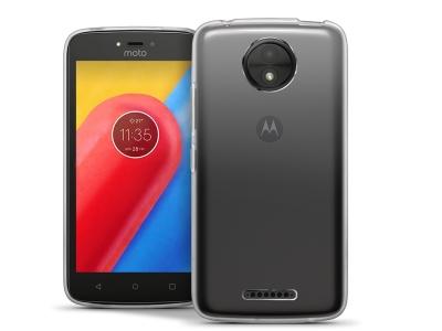 Силиконов гръб Ултра Слим за Motorola MOTO C Transparent
