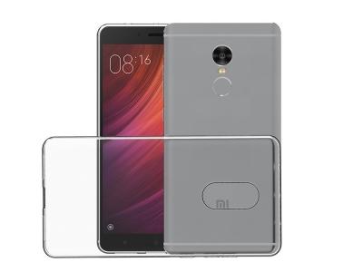 Силикон Ултра Слим за Xiaomi Redmi Note 4X / Note 4A, Прозрачен/Релефен