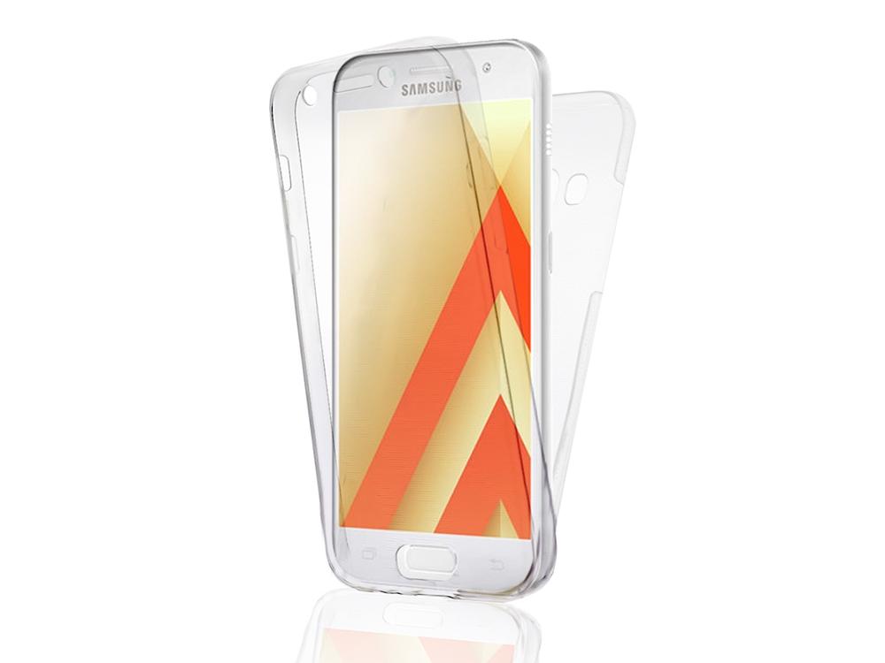 360 градуса Силиконов Калъф за Samsung Galaxy S8 Plus 2017 (G955F), Прозрачен
