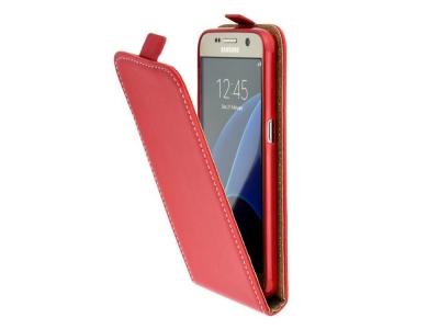 Калъф Slim Flexy за Samsung Galaxy J3 (2017) J330, Червен
