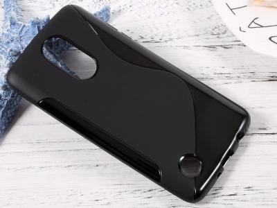 Силиконов Калъф S-Line за K8 2017 M200N / LG Aristo MS210 , Черен