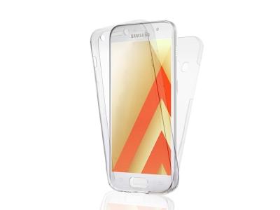 360 Гръб PVC Калъф (твърд) T24 за Samsung Galaxy J7 2016 J710, Прозрачен