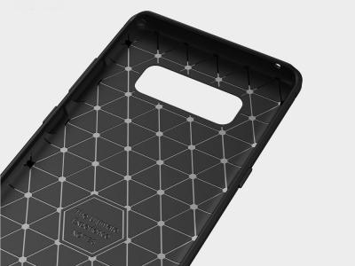 Силиконов Калъф Carbon за Samsung Galaxy Note 8 2017, Черен