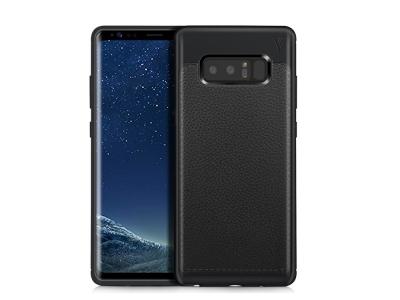 Силиконов гръб IVSO за Samsung Galaxy Note 8, Черен