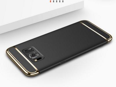 Калъф Гръб PVC 3 in 1 за Samsung Galaxy Note 8 , Черен