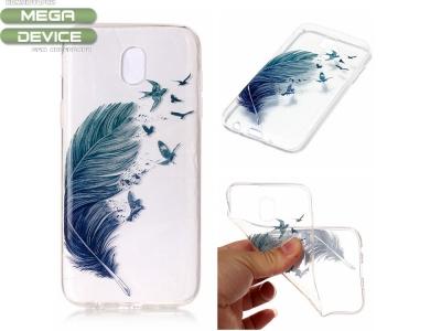 Силиконов Калъф за Samsung Galaxy J3 2017 J330 - Feather Birds