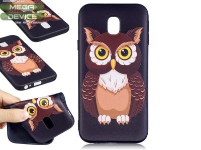 Силиконов Гръб за Samsung Galaxy J3 (2017) J330 - Owl
