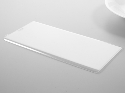 Стъклен протектор 3D Full Curved за Samsung Galaxy Note 8 2017, Прозрачен