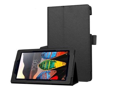 Калъф за Таблет  Litchi Texture Stand Leather  Lenovo Tab3 7 , Черен