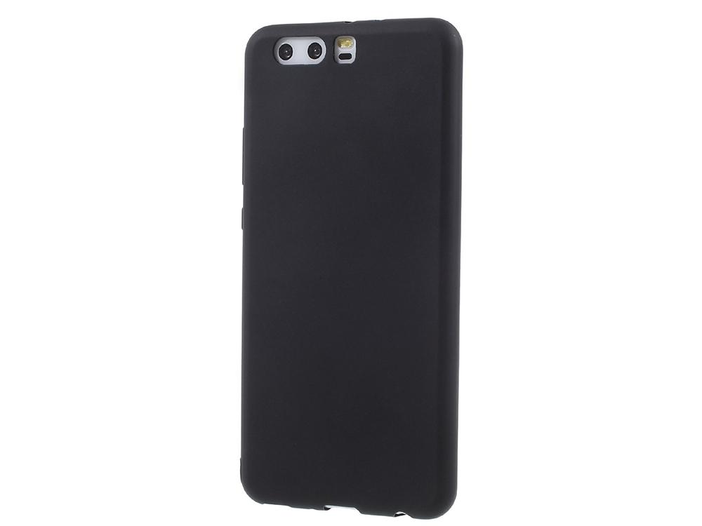 Силиконов Матиран Гръб за Huawei P10 Plus, Черен