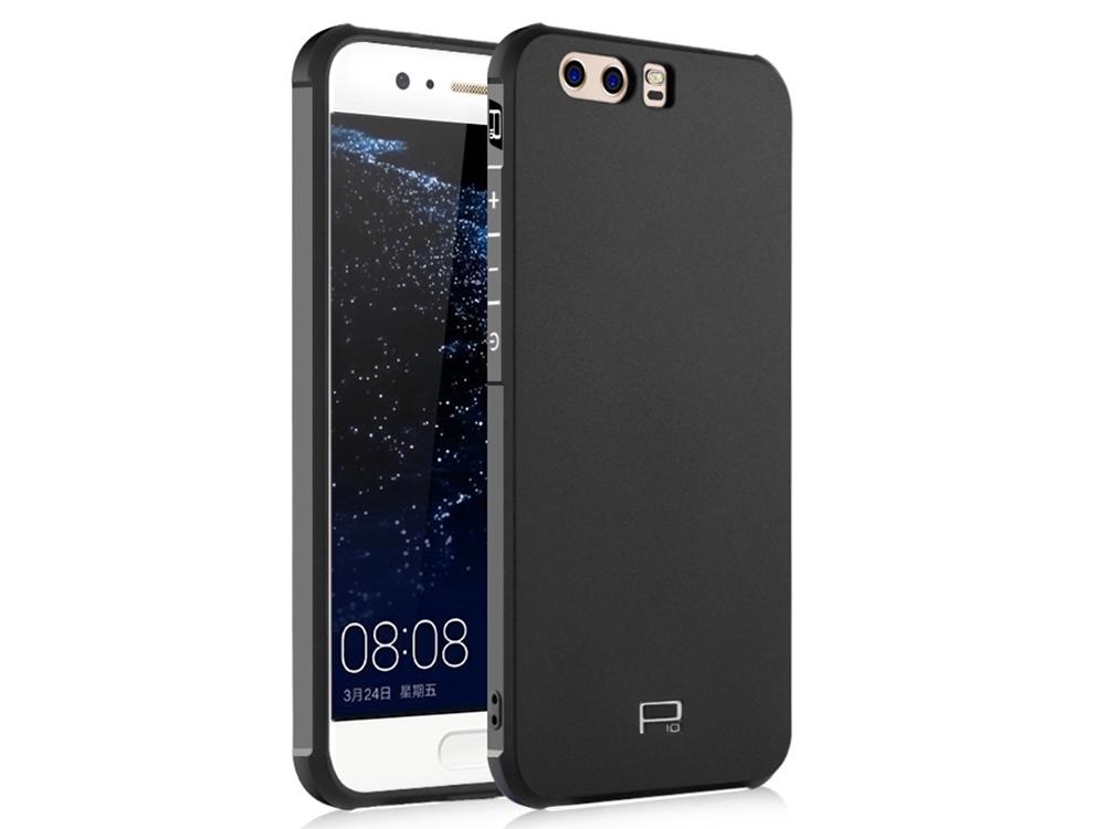 Калъф гръб Силикон за Huawei P10 Plus, Черен