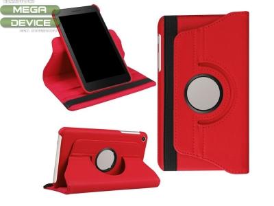 Калъф тефтер за Таблет за  Huawei MediaPad T2 7.0, Червен