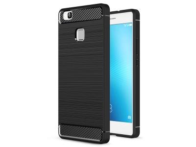 Силиконов Калъф Carbon за Huawei P9 Lite / G9 Lite, Черно