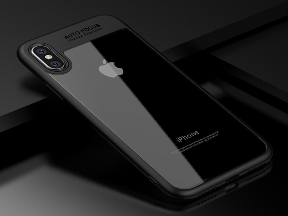 Калъф гръб Hibrid IPAKY за iPhone X 5.8 inch, Черен
