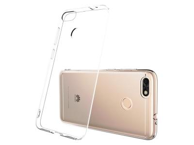 Силиконов гръб Ултра Слим 0.5mm за Huawei P9 Lite MINI / Enjoy 7  - Transparent