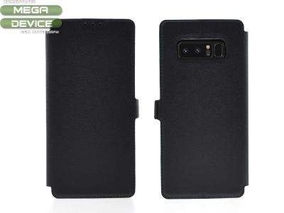 Тефтер странично отваряне  BOOK POCKET за Samsung Galaxy Note 8 N950 , Черен