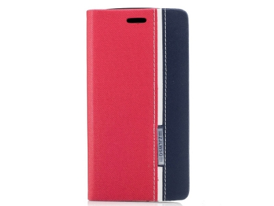 Калъф Тефтер Assorted за Motorola Moto G5 Plus , Червен